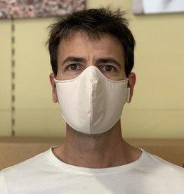 Ergonomic reusable mask