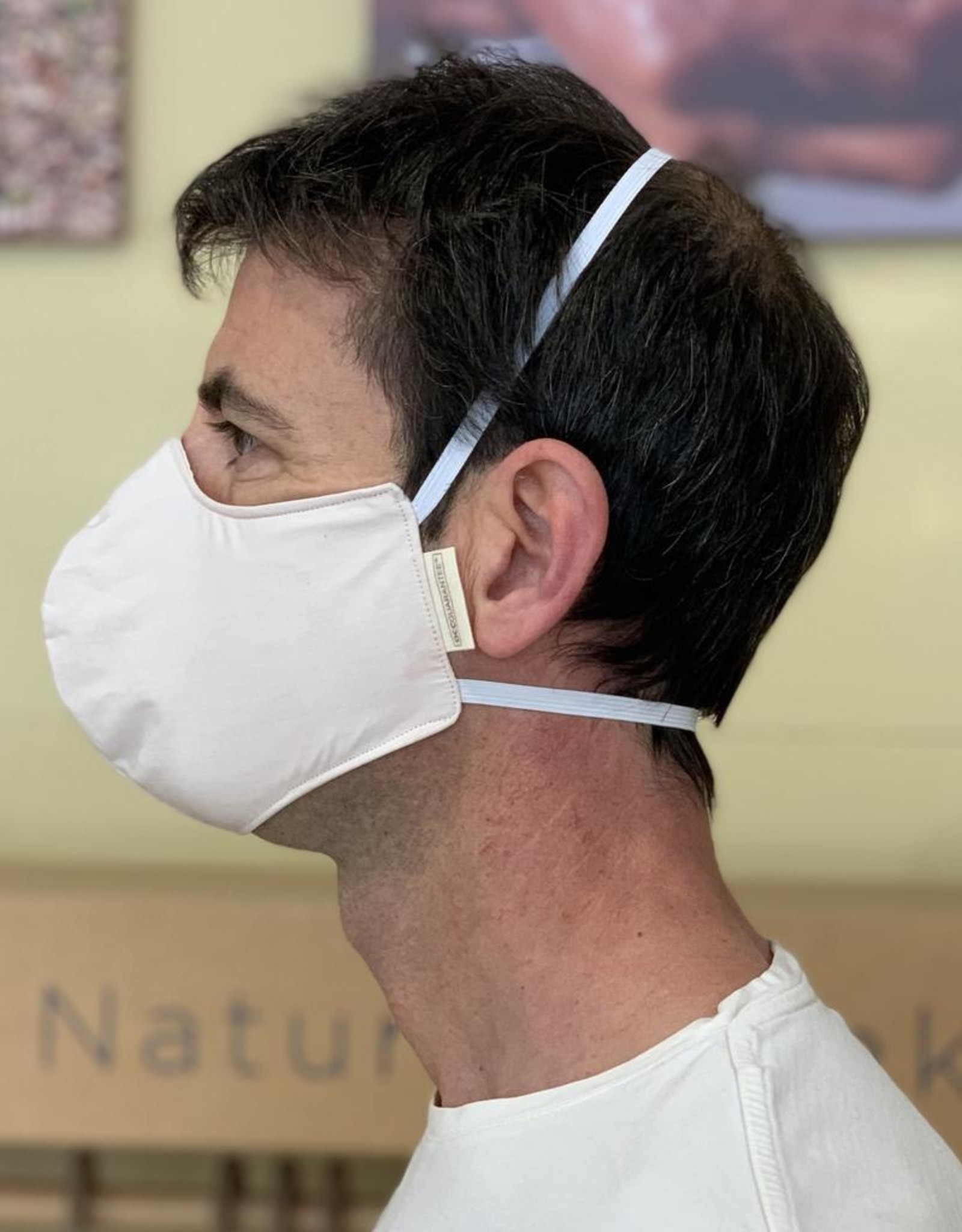 Ergonomic reusable mask