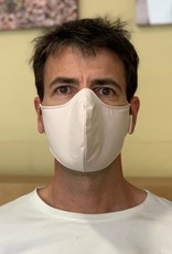 Reusable ergonomic mask