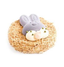 Hazelnootcrème-Paastaart