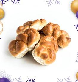 Kerst: Handgedraaide broodjes