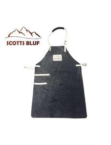 Scotts Bluf BBQ Schort Scottsbluf zwart
