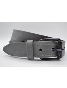 Scotts Bluf split lederen 40mm licht grijs casual riem