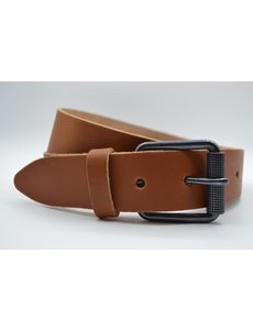 Scotts Bluf split lederen 40mm cognac casual riem