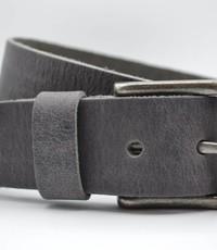 Scotts Bluf mooie strakke grijze volnerf jeansriem