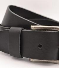 Scotts Bluf mooie strakke zwarte volnerf jeansriem