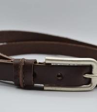 Rock 'n Rich bruine 20mm brede riem met speelse lus