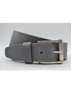 Scotts Bluf 4,5cm echt lederen casual licht grijze riem.