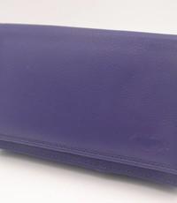 Arrigo extra grote paarse Anti Skim portemonnee