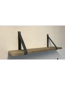 Scotts Bluf Leren Plankdragers Antraciet