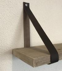 Scotts Bluf Leren Plankdragers bruin