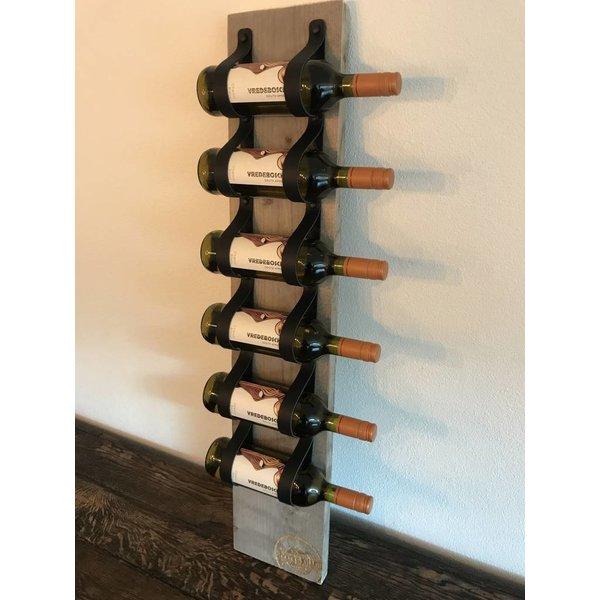 Scotts Bluf Dit eigentijds wijn of tijdschriftenrek van 100cm hoog