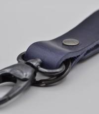 Scotts Bluf Blauwe sleutelhanger met naam of logo