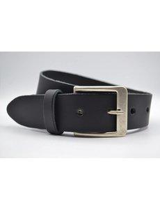 Big Belts zwarte XXL extra lange riemen op maat