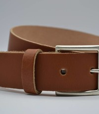 Big Belts cognac extra lange riemen op maat