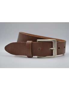 Big Belts cognac extra lange riem op maat