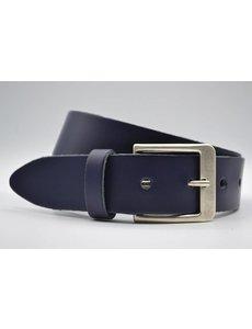 Big Belts donker blauwe extra lange riem op maat