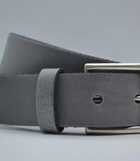 Big Belts licht grijze extra lange riemen op maat