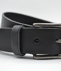 Big Belts Zwarte extra lange herenriem