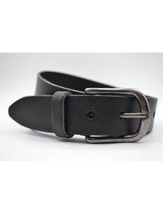 Big Belts Zwarte extra lange herenriem