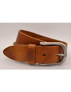 Big Belts Cognac extra lange herenriem