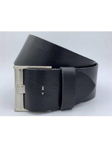 Rock 'n Rich Taille riem zwart 6cm breed