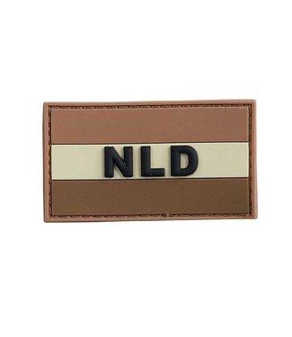 Applied Store Nederlandse 'NLD' vlag patch PVC Woestijn