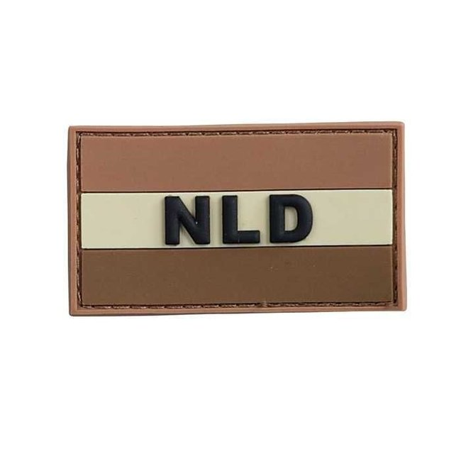 Applied Store Nederlandse 'NLD' vlag patch PVC Woestijn