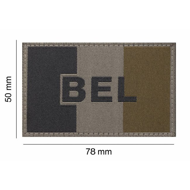 Clawgear BELGIUM FLAG PATCH RAL7013