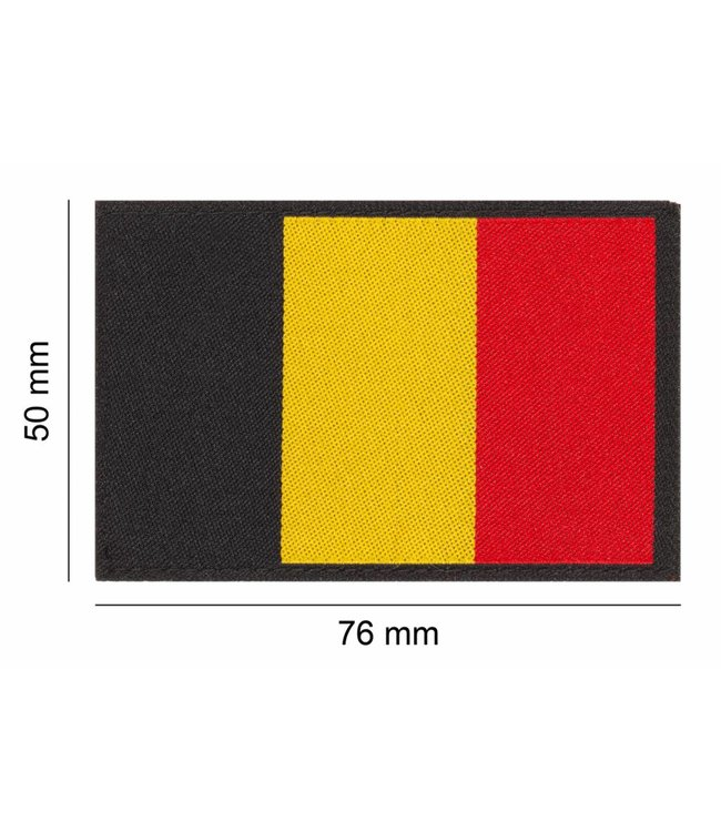Clawgear BELGIUM FLAG PATCH Kleur