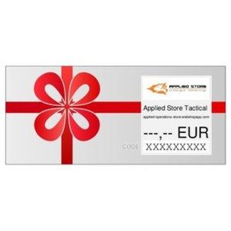 Applied Store Gift Voucher 5 Euro