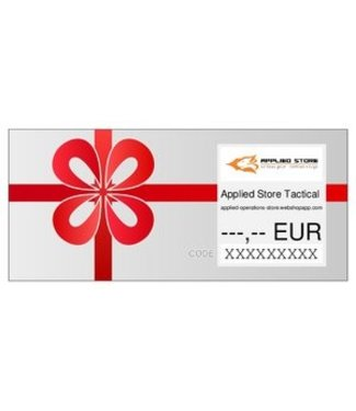 Applied Store Gift Voucher 5 Euro