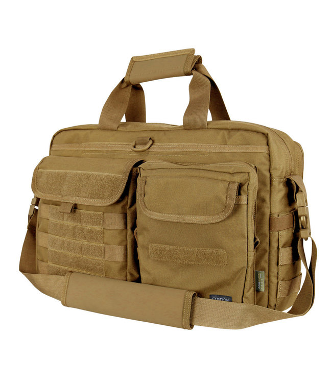 Condor Elite Metropolis Briefcase Brown (111072-019)
