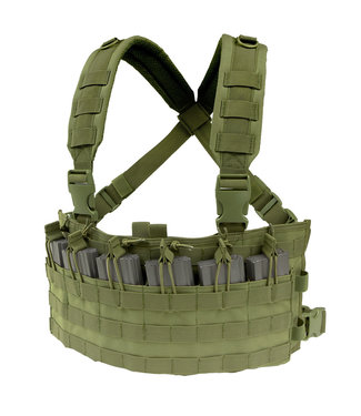 Condor Outdoor Rapid Assault Chest Rig OD Green (MCR6-001)