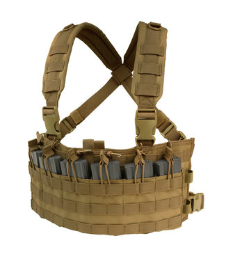 Condor Outdoor Rapid Assault Chest Rig Coyote Brown (MCR6-498)