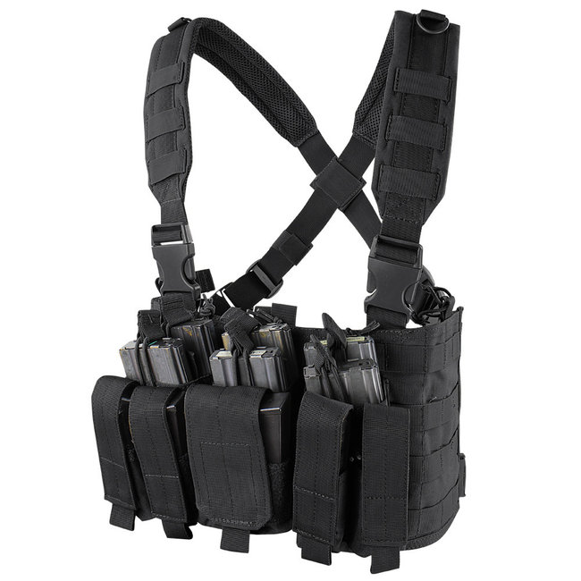 Condor Outdoor Recon Chest Rig Black (MCR5-002)