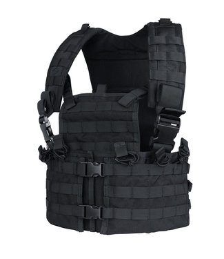 Condor Outdoor Modular Chest Rig Set Black (CS-002)