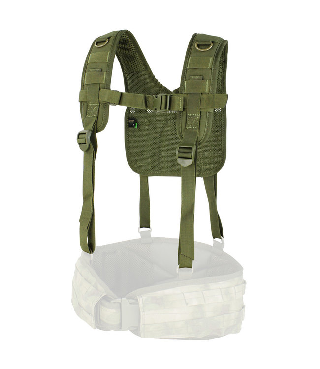Condor Outdoor H-Harness  OD Green (215-001)