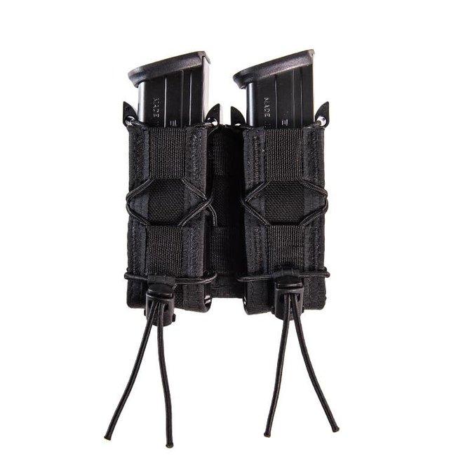 High Speed Gear Double Pistol TACO®  Black - MOLLE (11PT02BK)