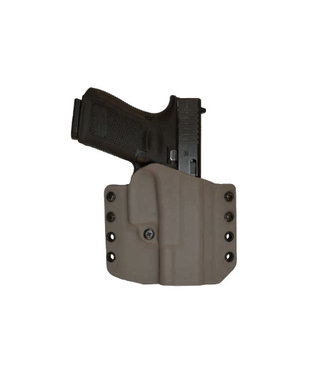 Comp-Tac Warrior Glock 17/22/31 Holster FDE  - Gen 1-5 - 1.5 inch belt