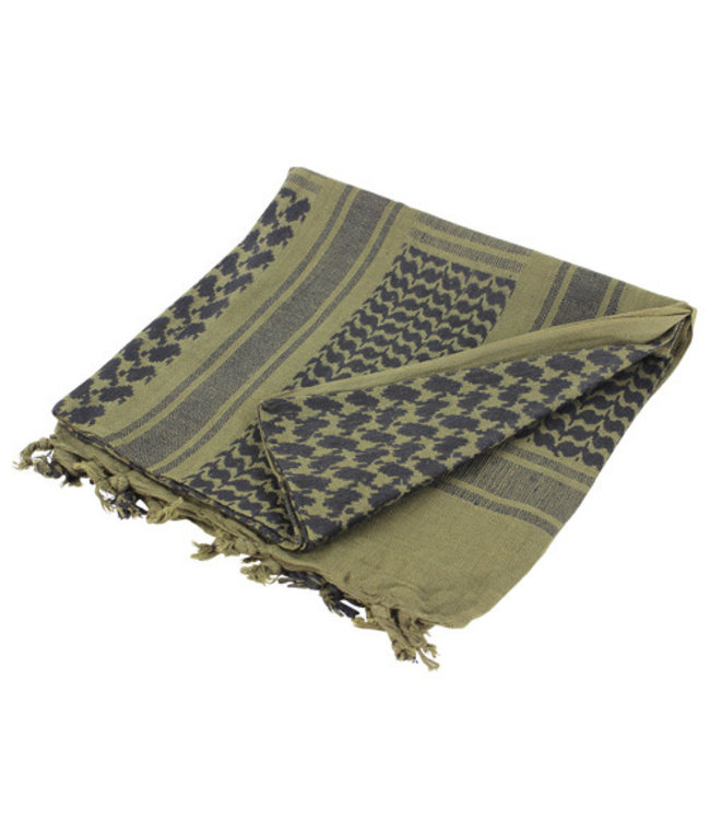Condor Outdoor Shemagh 100% Cotton Olive/Black (201-001)