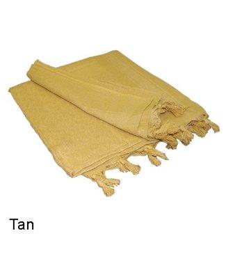 Condor Outdoor Shemagh 100% Cotton Tan (201-003)