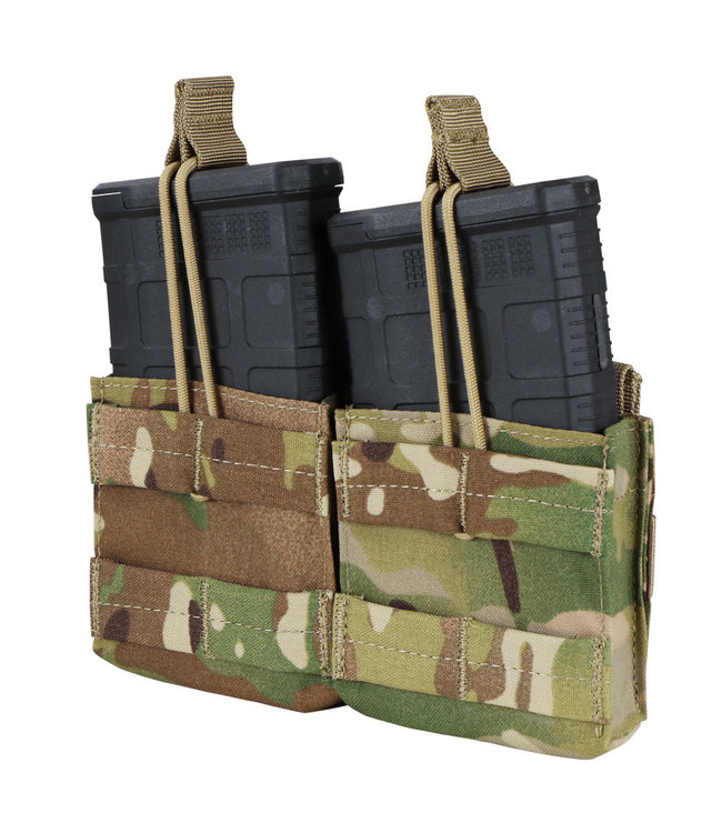 Condor Outdoor Double M14 open top mag Pouch Multicam (MA24-008)