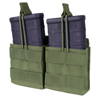 Condor Outdoor Double M14 open top mag Pouch OD Green (MA24-001)