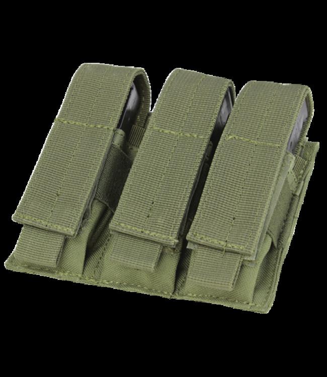 Condor Outdoor Triple Pistol Mag Pouch OD Green (MA52-001)