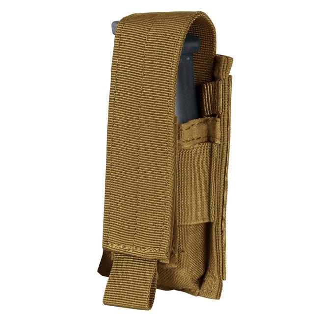 Condor Outdoor Single Pistol Mag Pouch Coyote Brown (MA32-498)