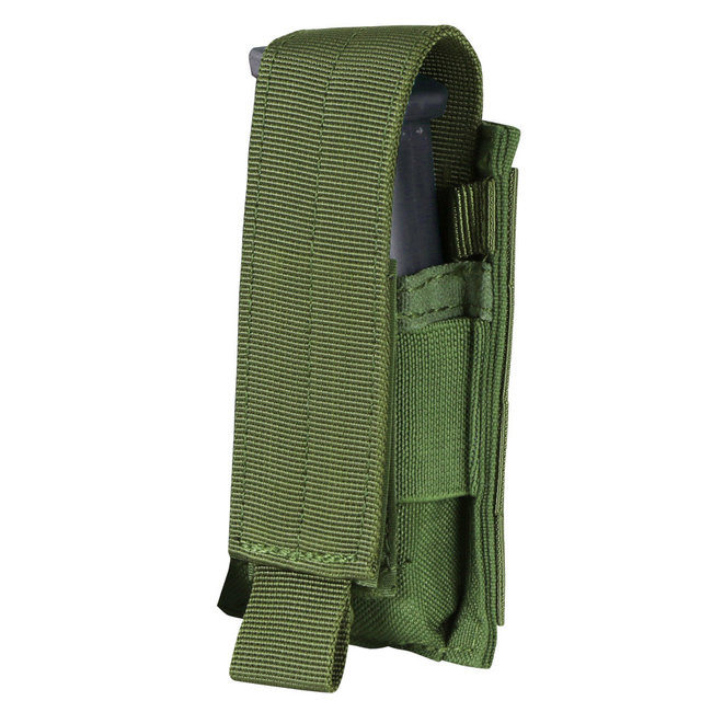 Condor Outdoor Single Pistol Mag Pouch OD Green (MA32-001)