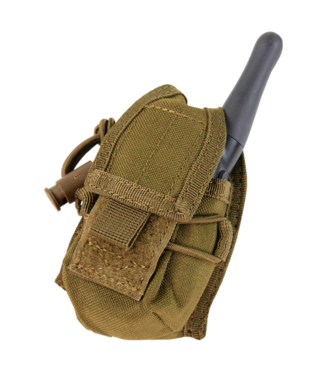Condor Outdoor HHR POUCH Coyote Brown (MA56-498) (Hand Held Radio)