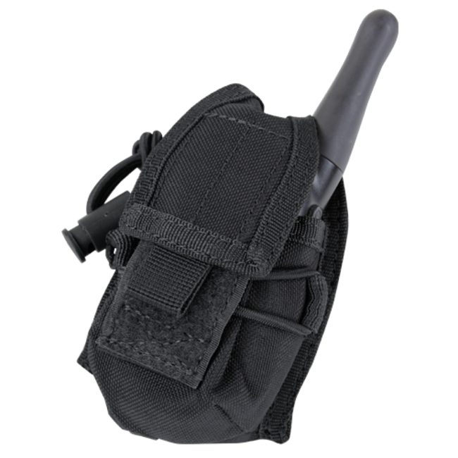 Condor Outdoor HHR POUCH Black (MA56-002) (Hand Held Radio)