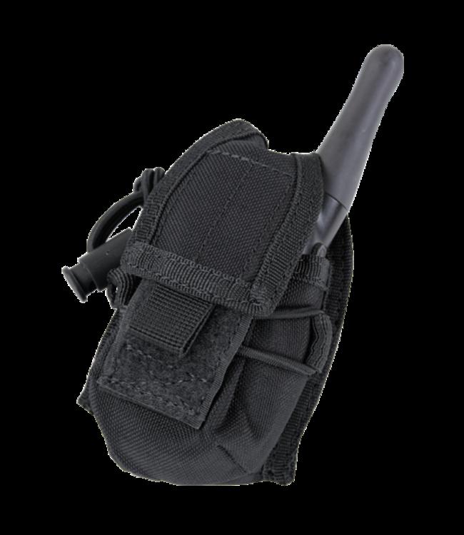 Condor Outdoor HHR POUCH Black (MA56-002) (Hand Held Radio)
